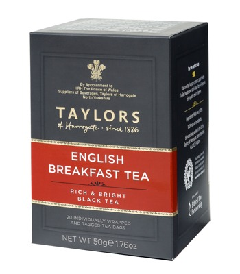 Taylors of Harrogate English Breakfast - 20 Wrapped Tea Bags